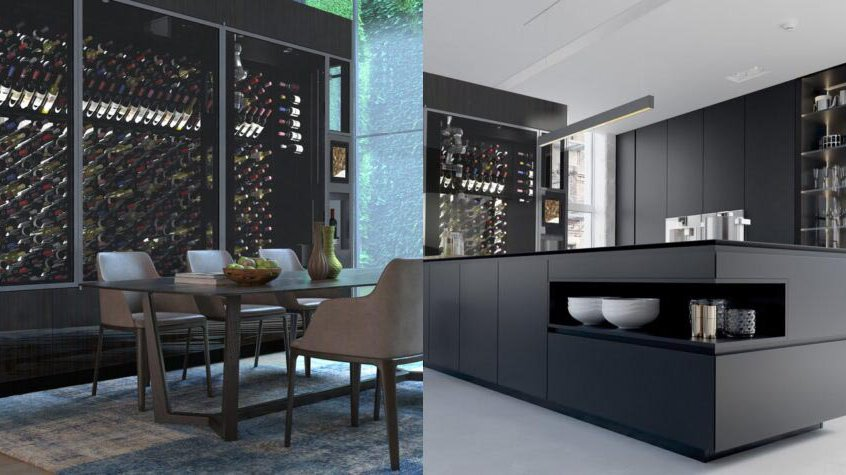 Wine Walls Staging Side-by-Side