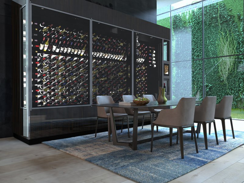 Wine Wall 15' Staging